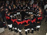 il coro Monte Gonare canta per inaugurazione Museo Nivola