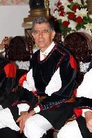 Corista del Coro Monte Gonare in custme tradizionale di Orani
