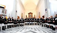 coro Monte Gonare in cerchio Parrocchia Sant'Andrea