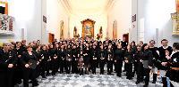 corali maschile e femminile al Concerto di Natale 2014