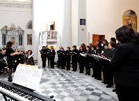Corali femminili al primo Concerto di Natale Orani 2014