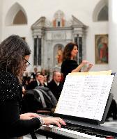 Concerto di Natale Orani 2014 accompagnamento al pianoforte