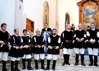 Il coro Monte Gonare nella Parrocchia Sant'Andrea di ORani Natale 2014