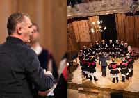 Sandro Pisanu dirige il Coro Monte Gonare a Budapest
