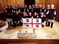 Premiazione del coro in  Chorus Inside Hungary 2018