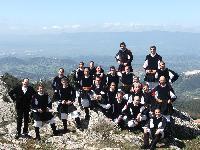 coro Monte Gonare sulle pendici del monte - anno 2006