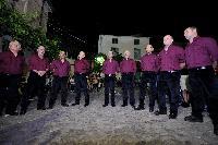 Tenori primi e baritoni del Coro Monte Gonare