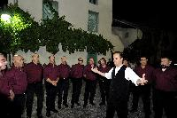 Il Maestro Mauro Lisei dirige il Coro Monte GOnare