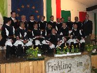 Il Coro Monte Gonare alla festa del Narciso Hollerath Germania