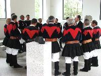 Il coro Monte Gonare si esibisce al Museo Nivola