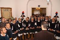 Concerto del Coro Monte Gonare in prefettura Nioro anno 2009