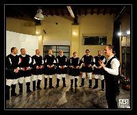 Mauro Lisei al decennale del Coro Monte Gonare