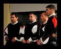 Settore dei Bassi al decennale del Coro Monte Gonare