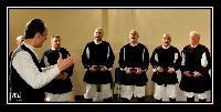 Settore dei Tenori Primi al decennale del Coro