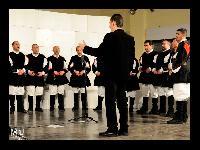 Settore dei baritoni del Coro Monte Gonare