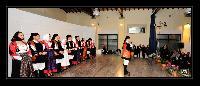 Il gruppo Folk di Orani al deccennale del Coro Monte Gonare