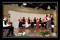 Coppia di ballo del gruppo Folk di Orani