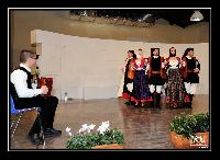 Le ballerine del gruppo Folk di Orani