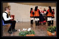 il Fisarmonicista del gruppo Folk di Orani