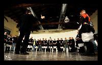Tutti i coristi del Coro Monte Gonare