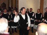 Mauro Lisei Dirige il Coro Monte Gonare at Italian Cultural Institute London
