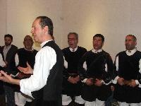 Baritoni Coro Monte Gonare at Italian Cultural Institute London