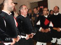 Prime voci Coro MOnte Gonare at Italian Cultural Institute London