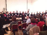 Il coro Monte Gonare at Italian Cultural Institute London