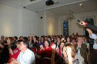 i fans del Coro Monte Gonare at Italian Cultural Institute London