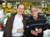 Mauro Lisei e Carmelo Ledda in partenza per Londra