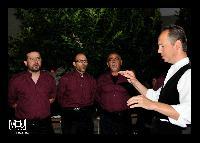 Settore baritoni del Coro Monte Gonare estate 2013