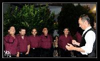 Settore tenori secondi e baritoni del Coro Monte Gonare Boches in bichinadu 2013