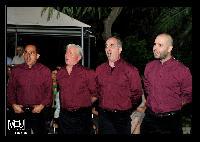 Settore tenori primi del Coro Monte Gonare estate 2013