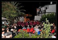 Boches in bichinadu cantano nella casa di Riposo San Giuseppe